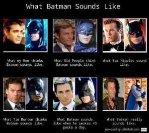 batman sounds like